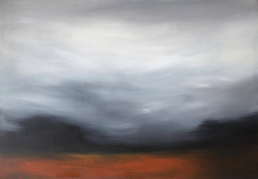 Oltre il silenzio -  Olio su tela - 100x70